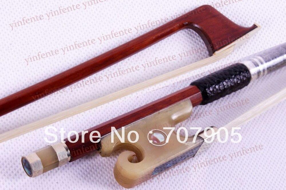 4/4 Violin Bow Brasil madeira Caracol chifre de Boi Sapo