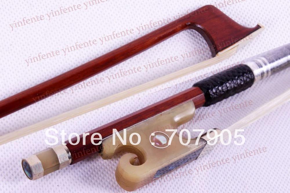 4/4 Violin Bow Brazil wood Bow Snail Ox horn Frog