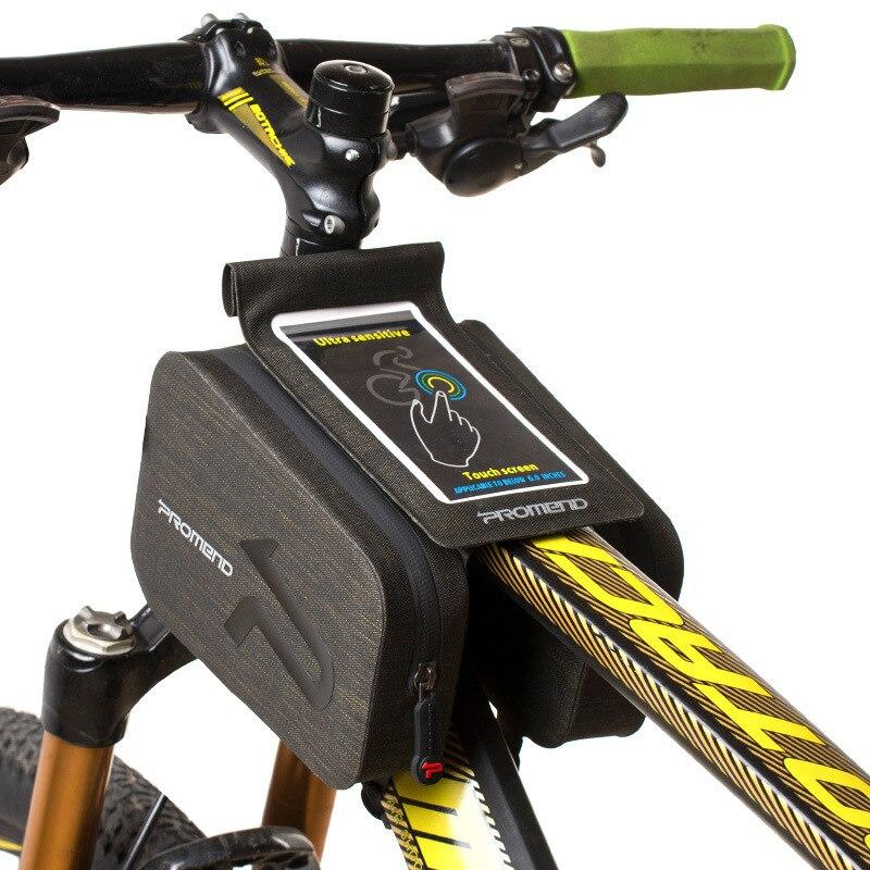 2019 PROMEND road bike Rainproof mobile phone bag Mountain bike mobile phone bag bicycle tube bag