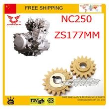 محرك ضخ النفط والعتاد zongshen xmotos كايو bse nc250 250cc 4 صمام المحرك الترابية حفرة دراجة زينة شحن مجاني