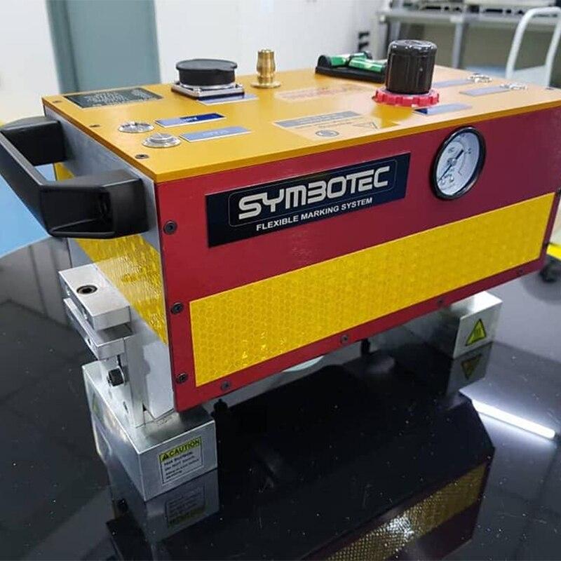 Tragbare Dot Peen Kennzeichnung Maschine Vin Anzahl Stanzen Maschine 140X20 Mm