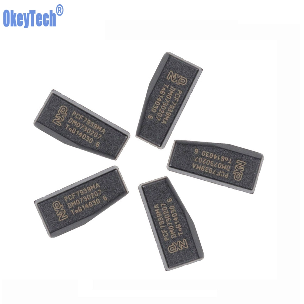 OkeyTech 5/10/50 teile/los für Renault Auto Auto Schlüssel PCF7939MA PCF7939 TP39 Original Auto Schlüssel Chip Transponder blank Chips