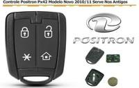 Brazil Old Positron Car Alarm 4 Button Remote Key Control 433.92mhz