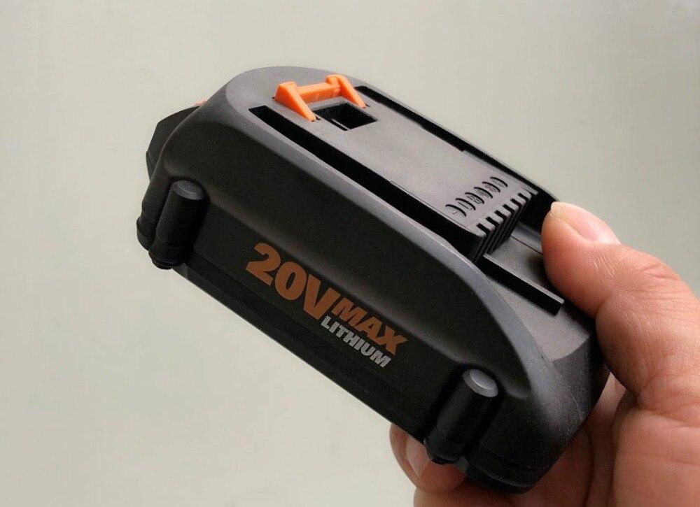 США 2500 мАч литий-ионный аккумулятор, замена для 20 в Worx WA3525 WA3520