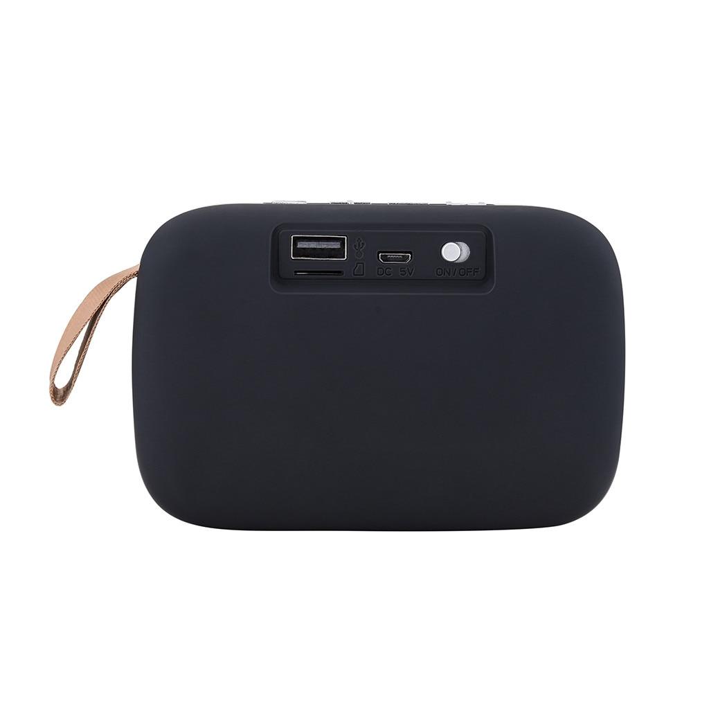 Novo 1800HZ Portátil Bluetooth Estéreo Sem Fio SD Card Speaker FM Para Smartphone Tablet Lapt # T2