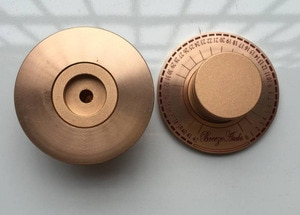 1pcs Gold aluminum diameter 60mm potentiometer knob Volume knob