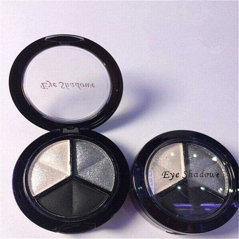 Sombra de Olho perfeito 3 Kit de Alta Qualidade de Longa Duração Paleta de Cores de Maquiagem Sombra de Olho Sombra de Olho Maquiagem Beleza Escolha Popular