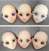 dm119 resin girl japan anime kigurumi cosplay masks comic and animation mask cosplay women cartoon bjd crossdressing