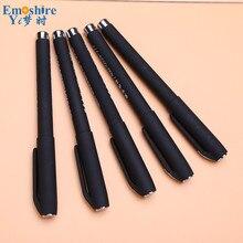 100pcs/ lots Plastic Ballpoint Pen Roller Ball  Pen Top Quality Gel Pens Custom Logo For Hotel Weeding Gifts Custom Logo P737