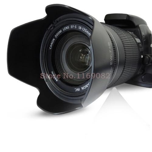 2 pcs EW78D ew-78d lente para canon 550D 500D 60D 50D câmera 7D T3i T2i T1i T3 18-200 28-200mm lente f/3.5-5.6 IS USM