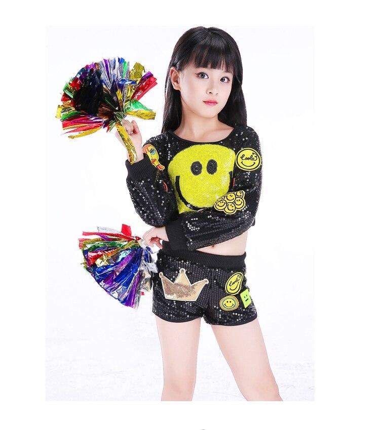Crianças cheerleading roupas moderno jazz dança trajes meninos meninas cheerleading performances trajes collants para meninas