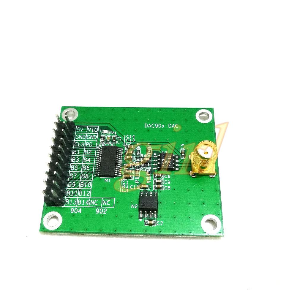 وحدة تحويل رقمية إلى تناظرية DA عالية السرعة DAC902 12 bit DAC904 14 bit 165MSPS