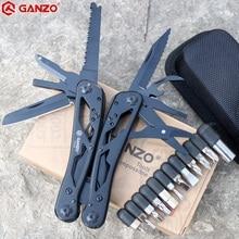 Pince multi-outils Ganzo G202B multi-couteau pliante EDC outils Camping pince multifonctionnelle pliante embouts de tournevis Mini ciseaux
