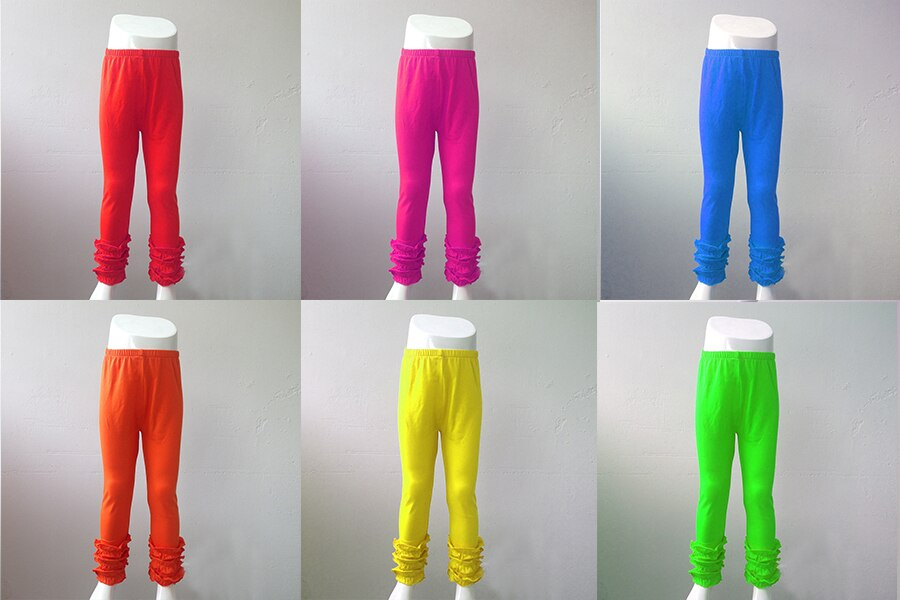 Wholesale Fashion Fresh 2017 teen kids lovely girl End of Season SALE pant shirt new style icing pants