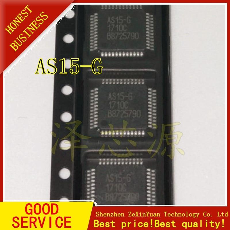 100 stücke AS15-G AS15 AS15G QFP48 LCD Chip IC 100% NEUE ORIGINAL