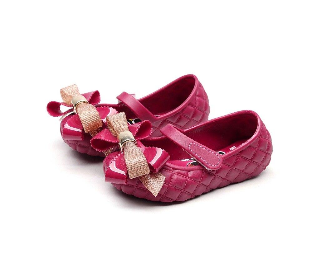 Mini Melissa 2019, zapatos de gelatina, sandalias de gelatina con lazo bonito para niñas, sandalias de verano para niñas, zapatos para niños de alta calidad