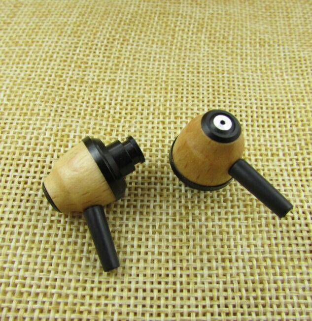 10 MM de madera ear shell Metal cámara frontal trasera de madera cavidad