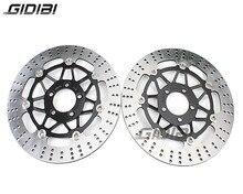 1 Pair Front Brake Disc Rotors For Kawasaki ZZR 400 ZZR400 1990-1999 ZR 550 ZR550 1991-1999 ZL600 B1 Eliminator 1995-1997