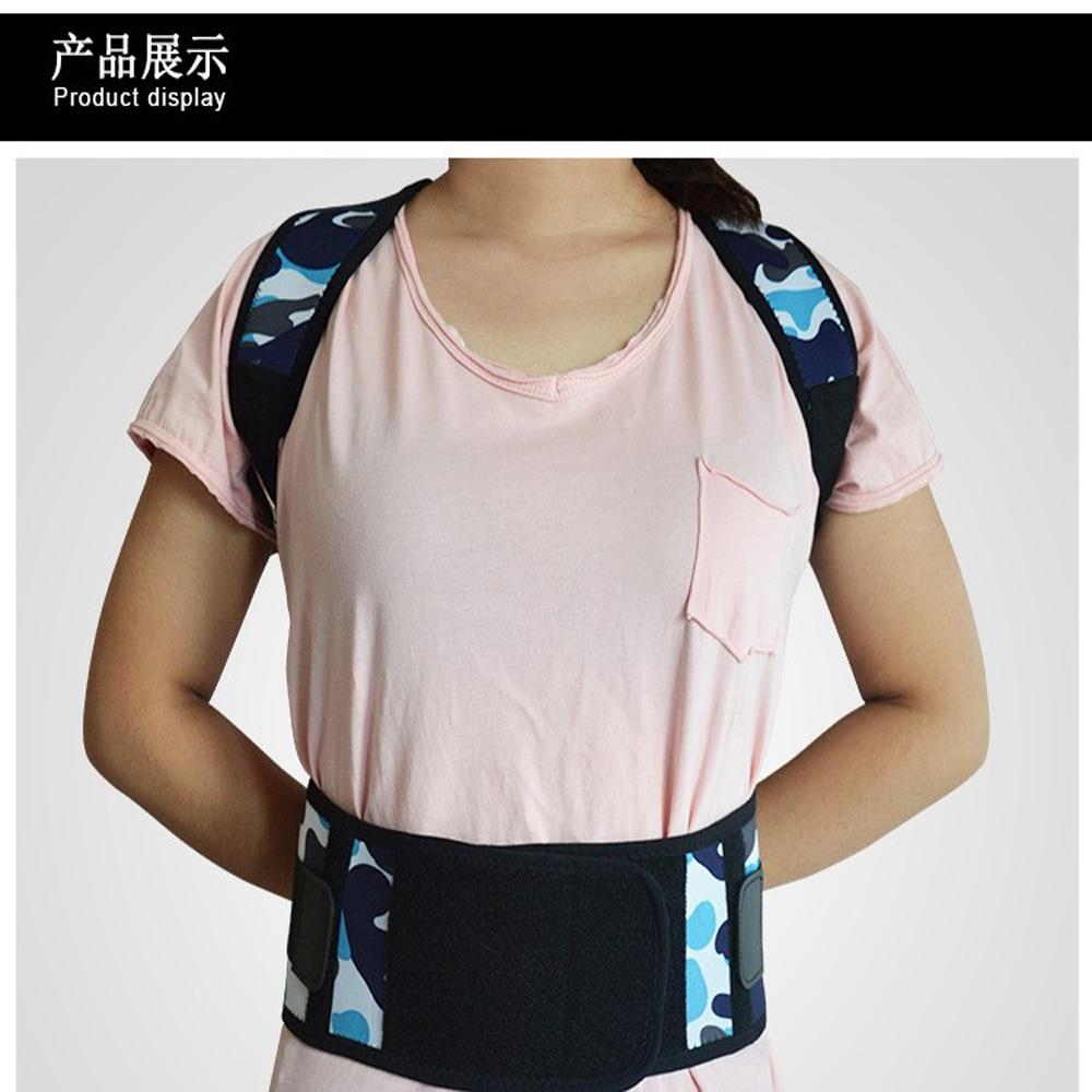 Cómodo corset ortopédico de postura de espalda para adulto, soporte de espalda, hombro, Corrector de postura, cinturón de dolor de espalda, correa de espalda ortopédica
