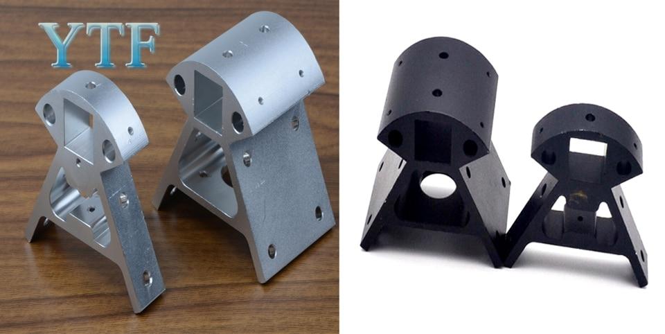 3D Drucker Teile Alle-metall Kossel Aluminium Legierung Ecke Stück Delta Größe Winkel Stück Aluminium Legierung Basis 1 stücke