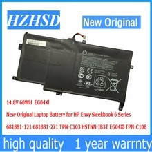 14.8 V 60WH Nouveau Original EG04Xl batterie dordinateur portable pour HP Envy Sleekbook 6 681881-121 681881-271 TPN-C103 HSTNN-IB3T EG04Xl TPN-C108
