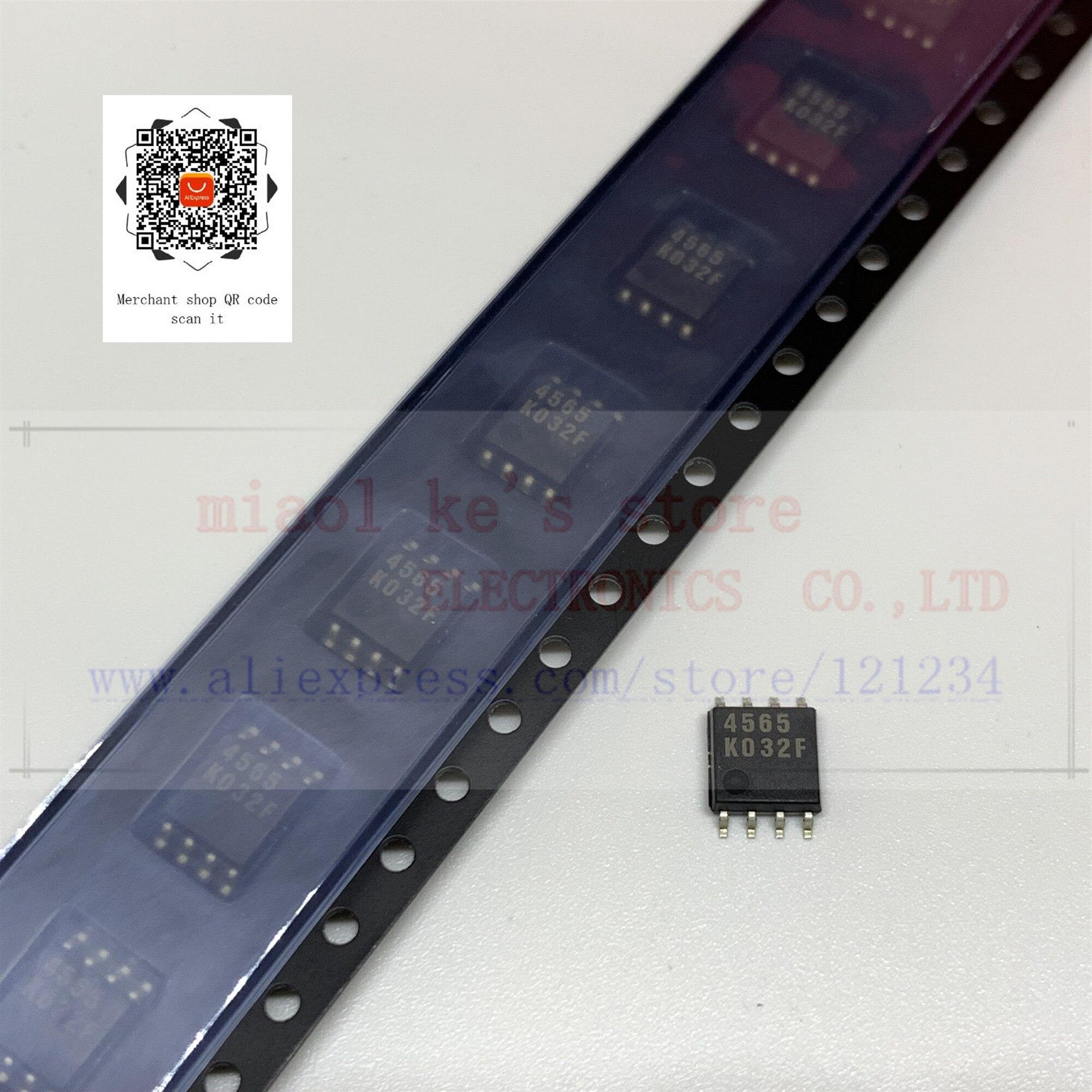 [10 uds/1 lot] 100% nuevo original; NJM4565M NJM4565 JRC4565 4565 SOP8-IC, AMP OP GP 10MHZ 8DMP