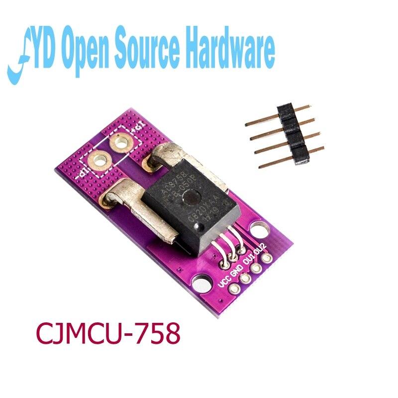 10 pièces 50A CJMCU-758 ACS758LCB-100B-PFF-T capteur de courant linéaire