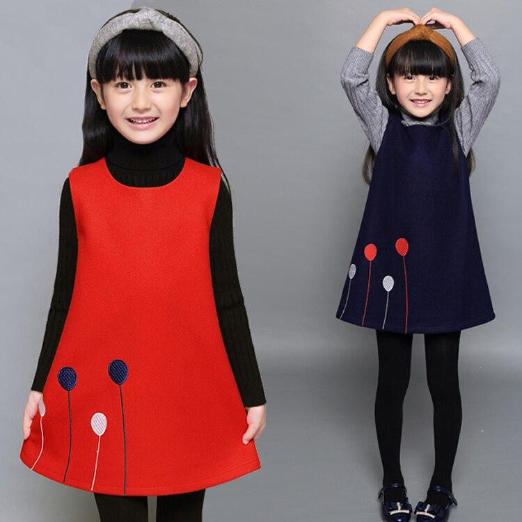 Vestido de princesa Jilly para niñas 2019 Nuevo bordado sin mangas vestido de fiesta para niñas globo bonito dibujo animado Ropa para Niñas