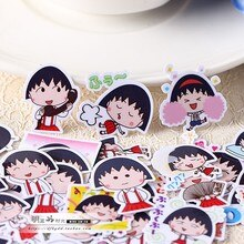 40 pièces créatif mignon auto-fait Sakura Momok Scrapbooking autocollants/autocollant décoratif/bricolage artisanat Albums Photo