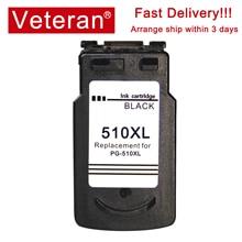 Veteran pg 510 cl 511 ink cartridge compatible for canon pg510 cl511 pg-510 Pixma MP250 MP270 MP280 480 MX320 330 iP2700 printer