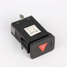 Neue OEM 1Pcs OEM VW Schalter Gefahr Warnung Flash-Switchs Taste Für VW Golf MK4 Jetta Mk4 1J 0 953 235 C 01C