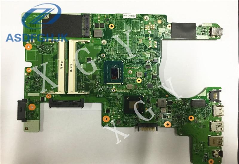 CN-013Y69 13Y69 ordenador portátil placa madre para Dell para Inspiron 15Z 5523 placa base SR0XL I5-3337U DDR3 integrada 100% trabajo perfecto
