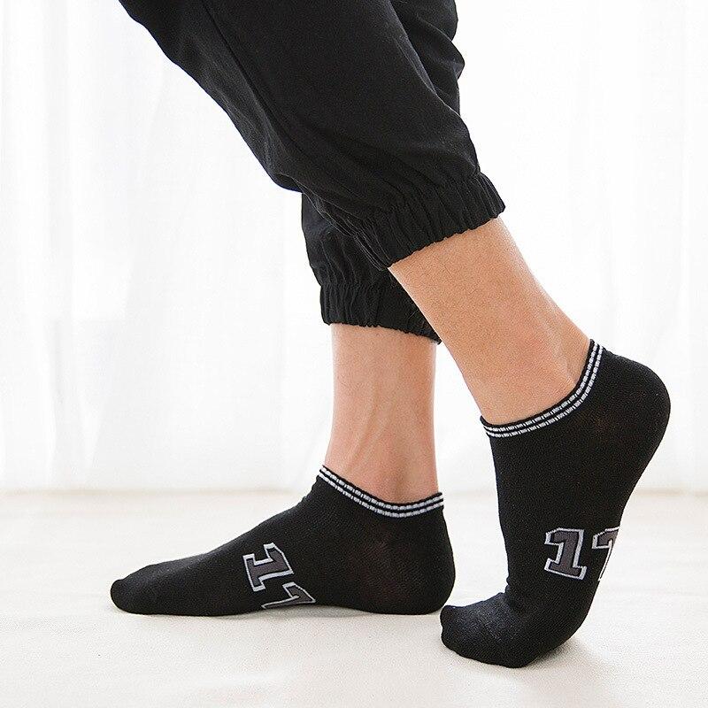 Nuevos Calcetines de Hombre con patrón, Calcetines negros felices, Calcetines digitales de algodón, Calcetines blancos de Hip Hop para Hombre, ropa, Calcetines para Hombre, Meia