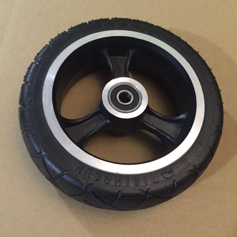 5 дюймовые твердые шины для заднего колеса JACK HOT JASION складные мини электрические