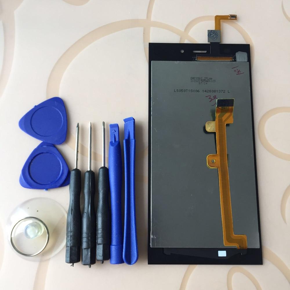 Para xiao mi 3 m3 mi 3 tela de toque digitador do painel sensor vidro + display lcd monitor montagem painel da tela ferramentas gratuitas