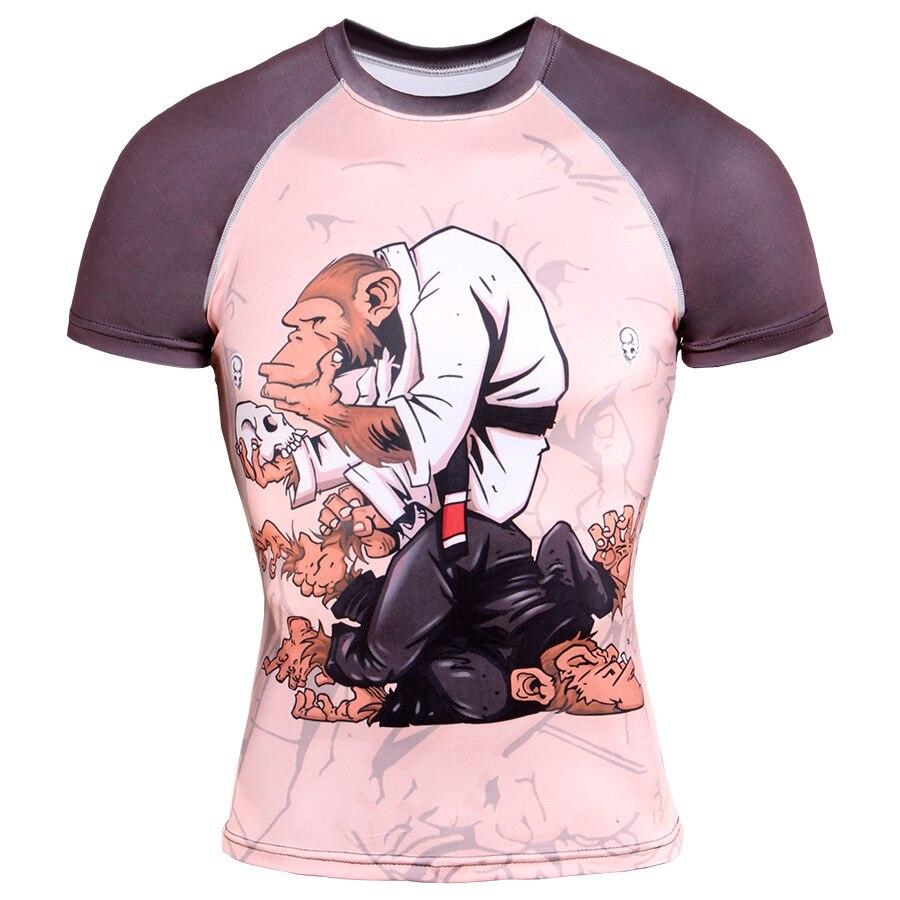 Ropa de compresión gimnasios, camisetas con estampado 3D, camisetas divertidas de Calavera, camiseta Popular de Anime, camisetas de Hip Hop, ropa de calle