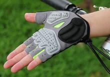 GUB 2098 respirant montagne route cyclisme gants 3D GEL anti-dérapant moto vélo Anti-choc demi doigt vélo