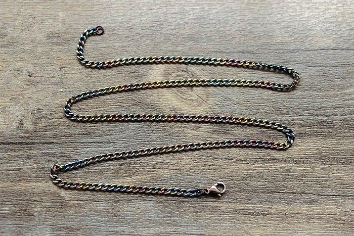 Nahtlose Reinem Titan Halskette Schlüsselbein Kette Hund Lizenz Anhänger Kette Reinem Titan Material Nahtlose Produktion