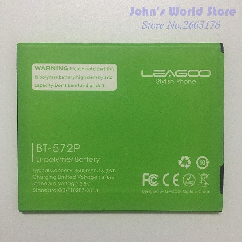 100% Original de alta calidad LEAGOO M8, batería de repuesto de 3500mAh para BT-572P LEAGOO M8, batería BT572P, batería de respaldo, batería de batería