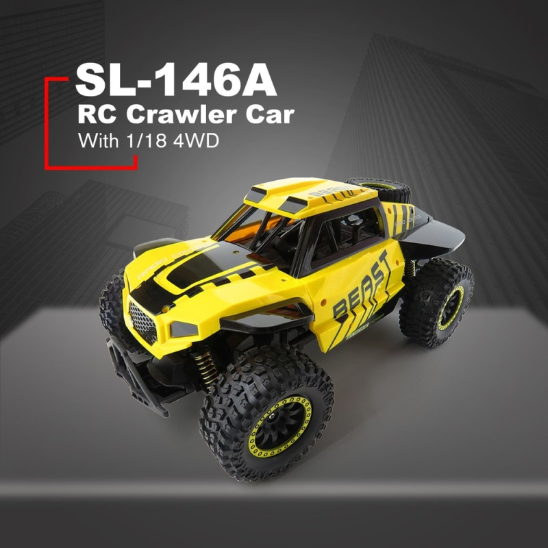 RC Rock Crawler Car with 2pcs Battery 2.4G 2WD Bigfoot Car Remote Control Car Model Toys Off-Road Vehicle RC Buggy Car Gift Toys enlarge
