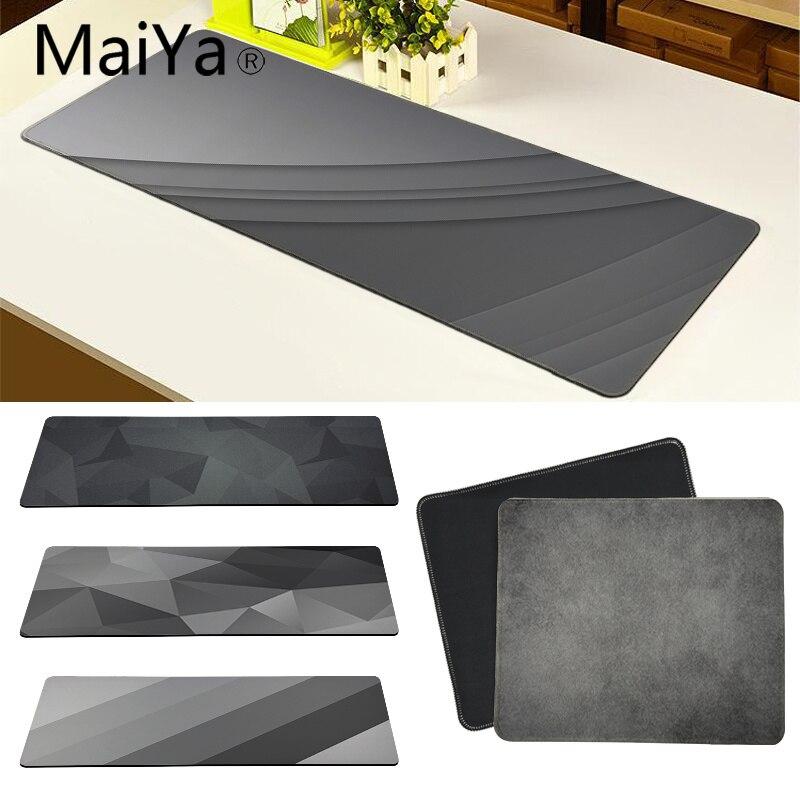 Maiya Top Qualität Grau schöne design Gummi PC Computer Gaming mauspad Freies Verschiffen Große Maus Pad Tastaturen Matte