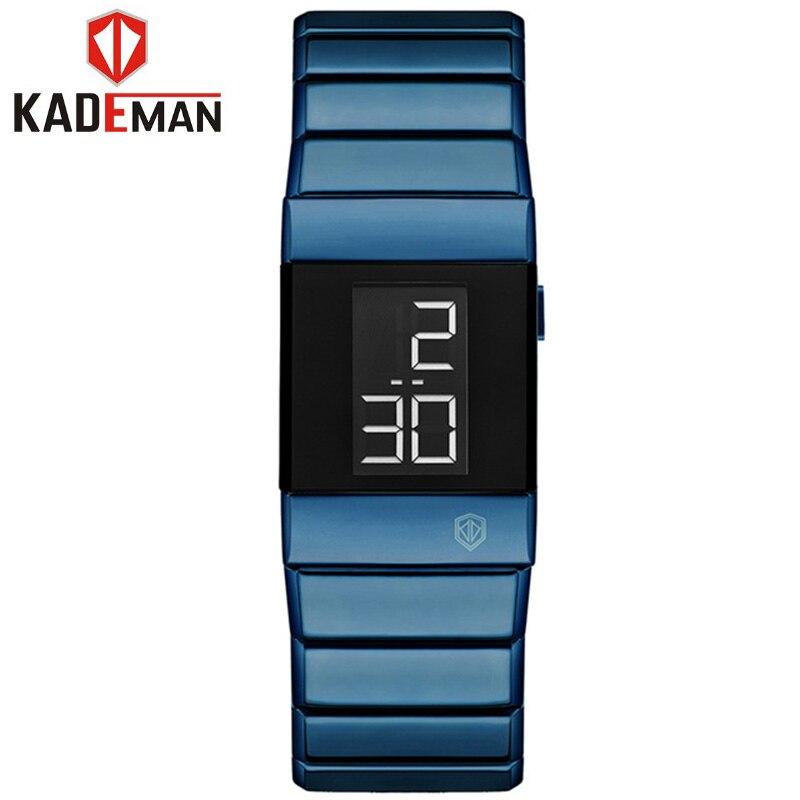 Women Bracelet Dress Watches Black Stainless Steel Waterproof 2020 Top Brand Luxury Digital Reloj Mujer Ladies Watch For Women