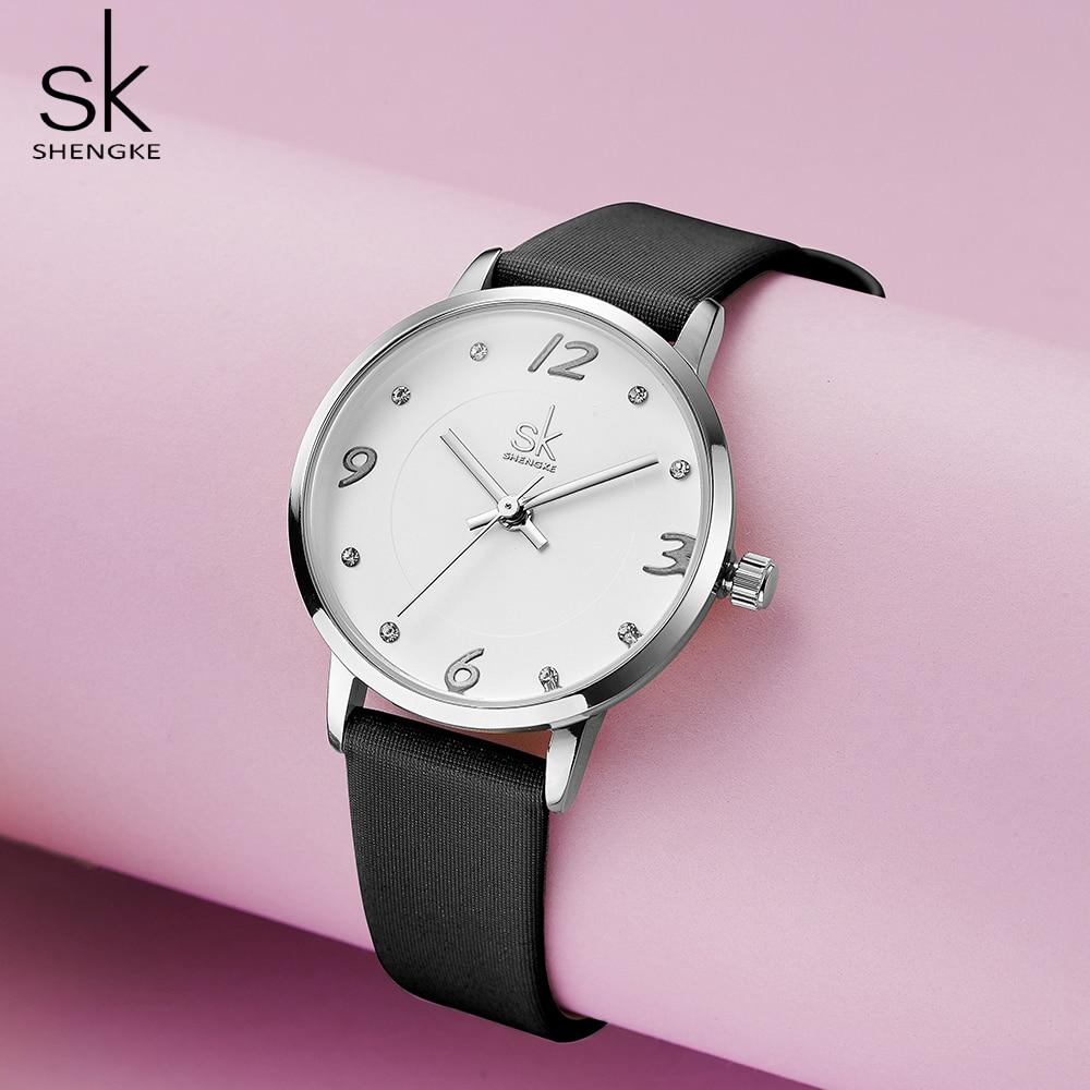 Shengke Modern Fashion Women's Watches Female Quartz Watch Female Casual Wristwatch Waterproof Wristwatch Gift enlarge