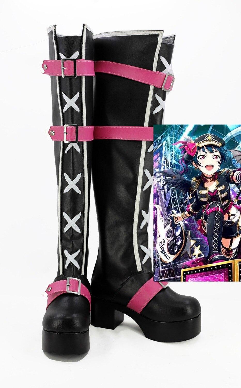 Industrial S. A. De Yoshiko Cosplay amor EN DIRECTO especial-Cosplay botas Yohane Anime zapatos de