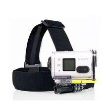Support de sangle élastique noir pour sony action am HDR-AS100V AS300R AS50 AS200V X3000R AEE caméra sport