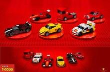 Набор гоночных мини-автомобилей DECOOL 2210-2215 F1 FORMULA 1, детские строительные блоки, игрушки, Спортивная машинка с скоростями по городским скорост...