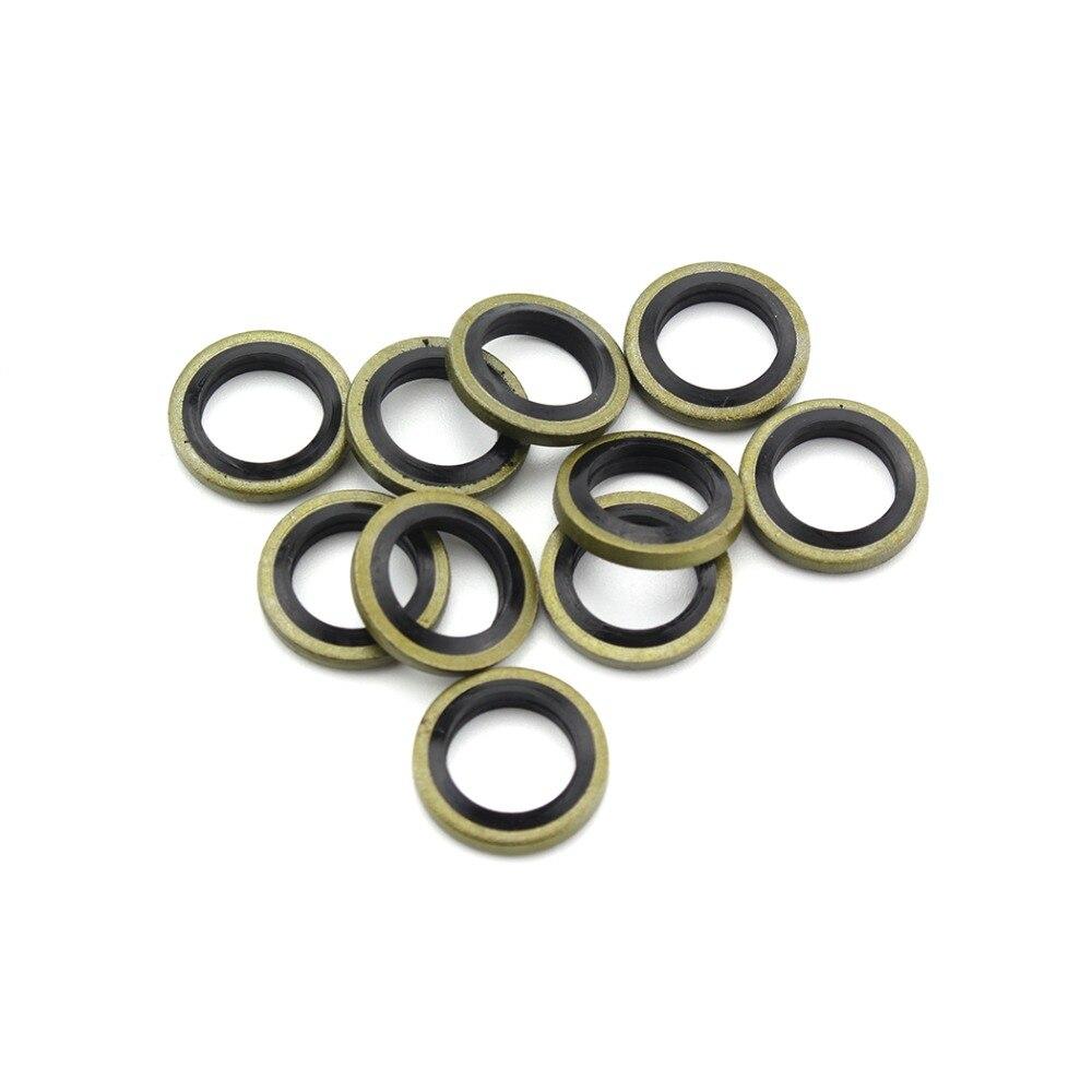 PCP Airfore Airsoft neumatics sello de aire M10 junta de alta presión Junta o-ring sellado para Mini calibrador acopladores Socket 20 unids/lote