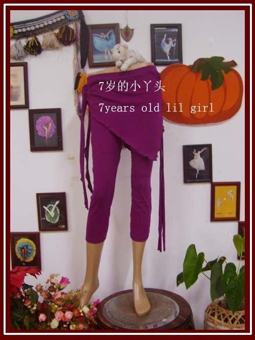 ليكرا القطن القبلية الرقص الشرقي جوارب يوغا كابري السراويل مع تنورة المناسب بنطلون بنطال رهيف KI07 19