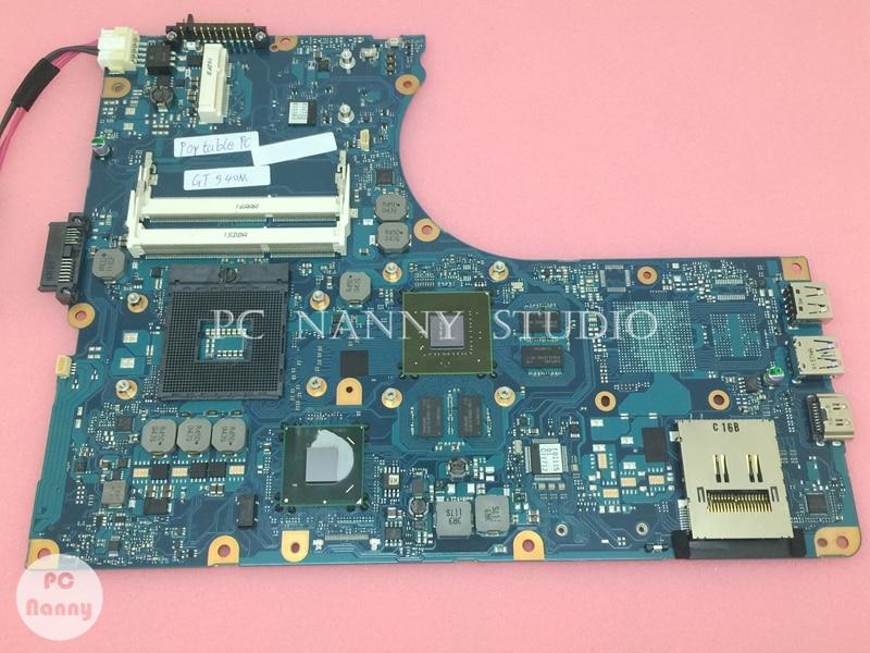 Placa base PCNANNY para ordenador portátil Toshiba Qosmio F750 F755 FMCGSY4 s989 GT540