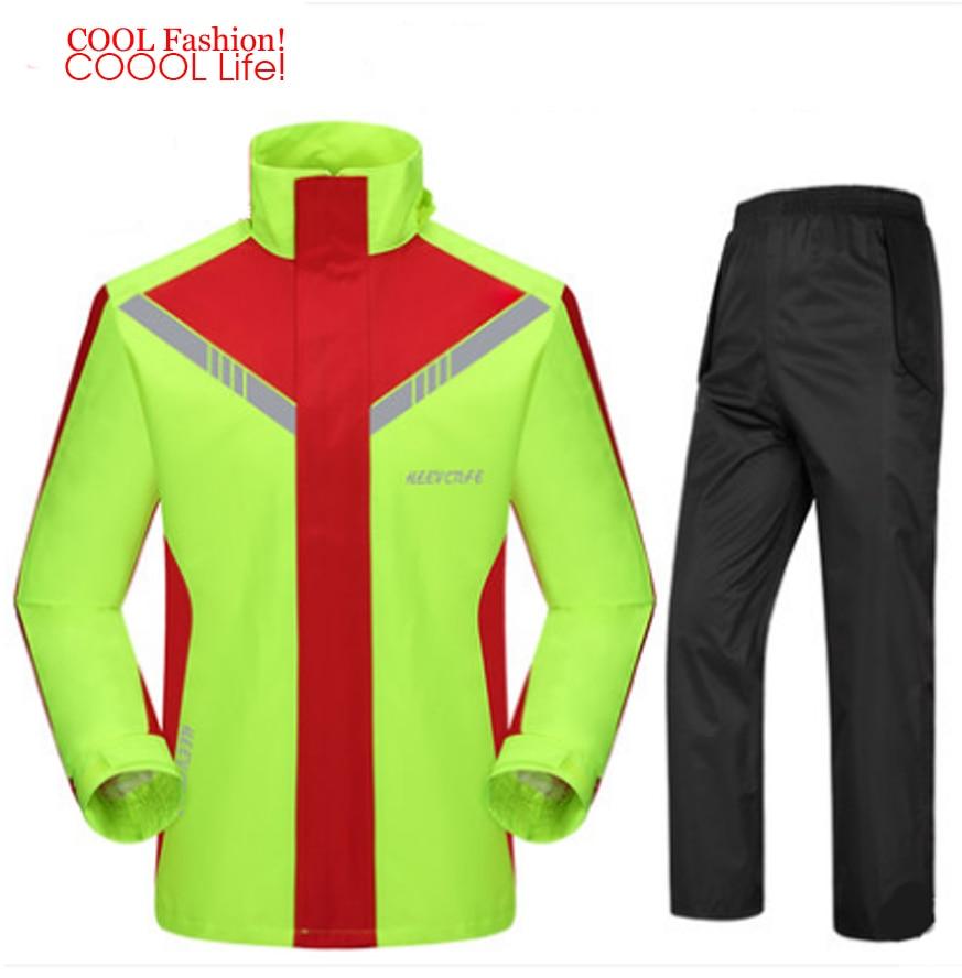 Fashion Super Waterproof Motorcycle Rain Suit Hooded Raincoat para moto impermeable motociclista Rain Coat motocicleta jaquetas enlarge